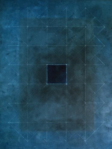 Blue Portal 4. 1974. Oil on Canvas. 122x183cm.