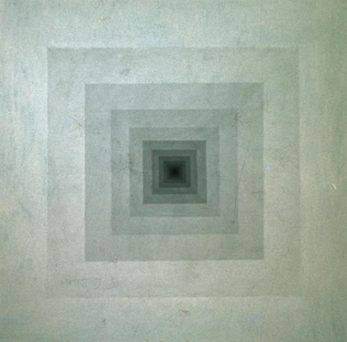 Janus 1. 1974. Oil on Canvas. 120x120cm.